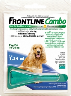 Merial Frontline Combo Spot-On Dog M sol.1x1.34ml
