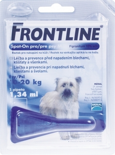 Merial Frontline Spot-On Dog M sol.1x1.34ml