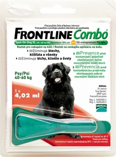 Merial Frontline Combo Spot-On Dog XL sol.1x4.02ml
